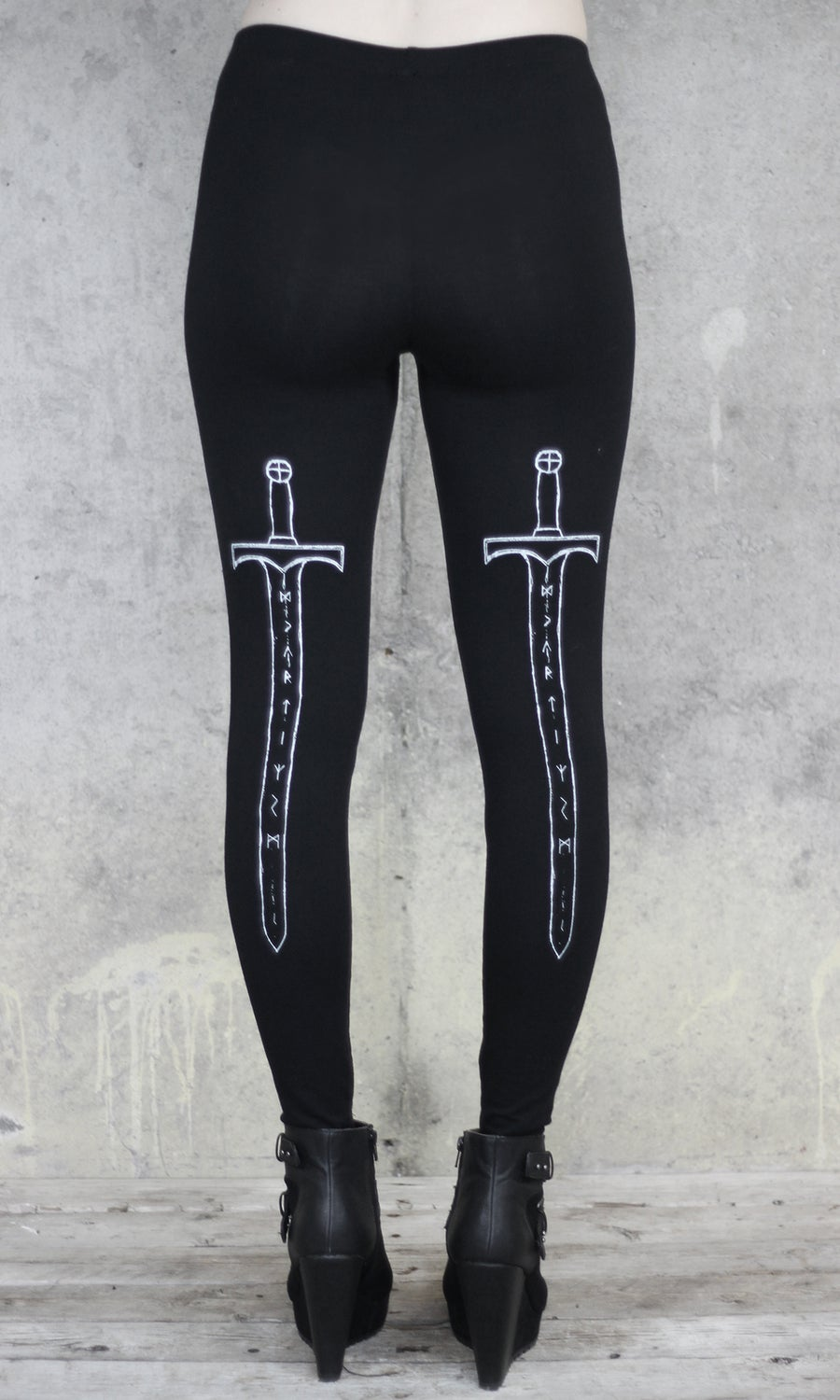 Image of MTO RUNE SWORD LEGGINGS