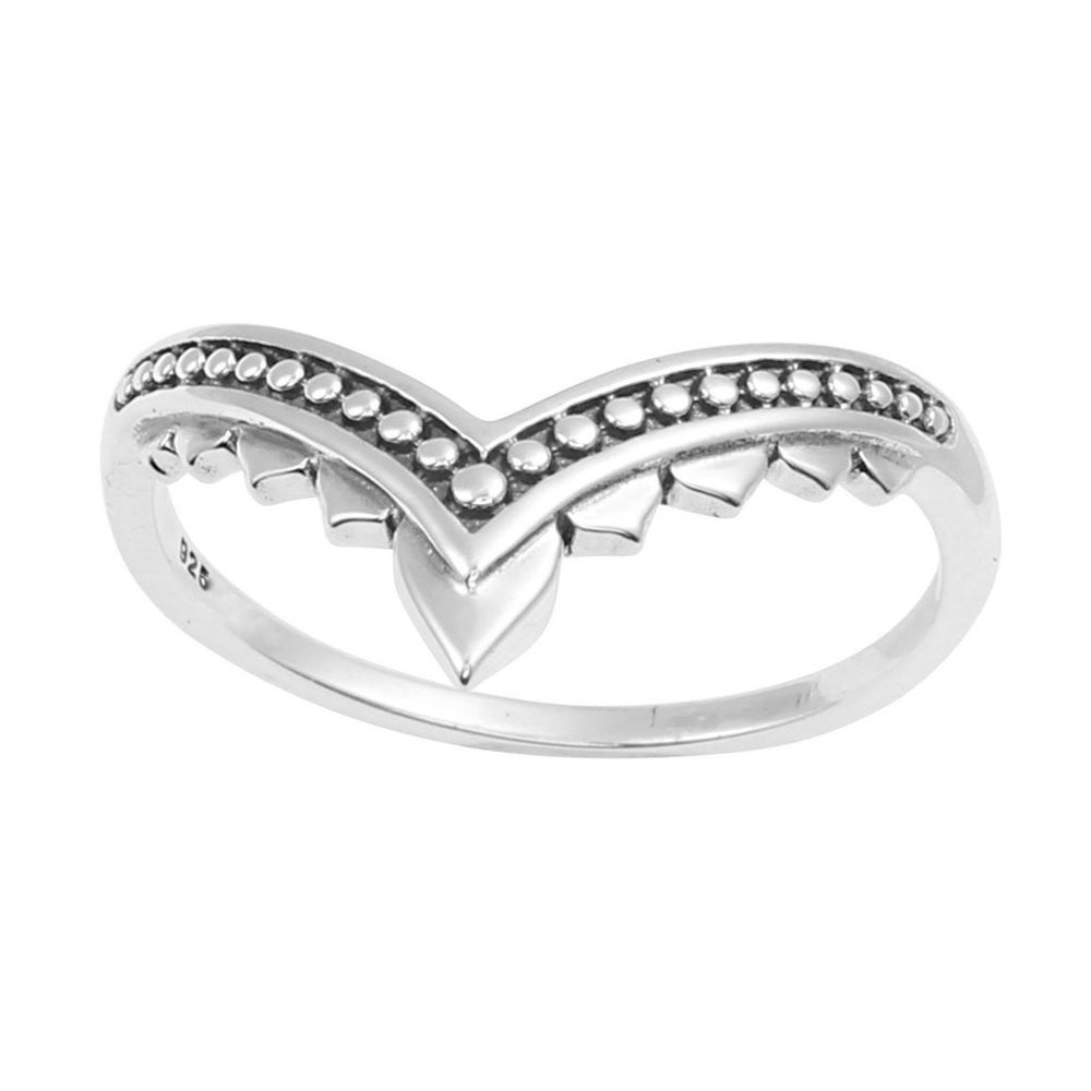 Image of Sterling Silver Flame Ring