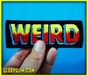 WEIRD logo patch!