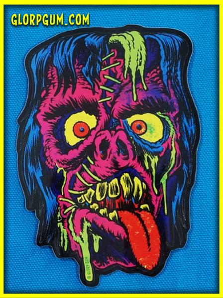 Image of Gory Ghoul Sticker KILL-ROY