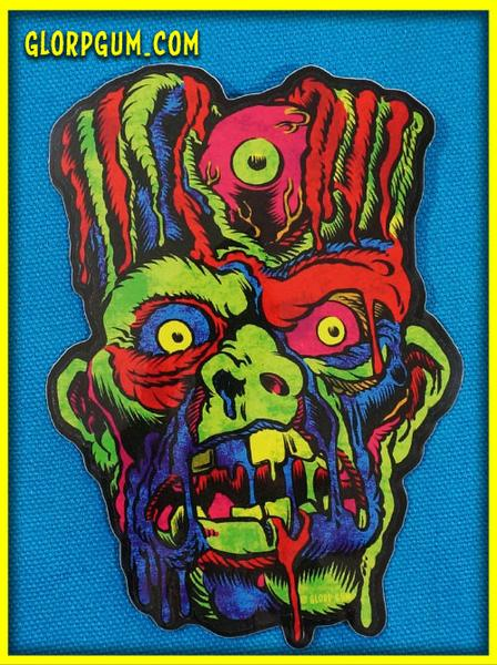 Image of Gory Ghoul Sticker: FRANKEN-GLORP
