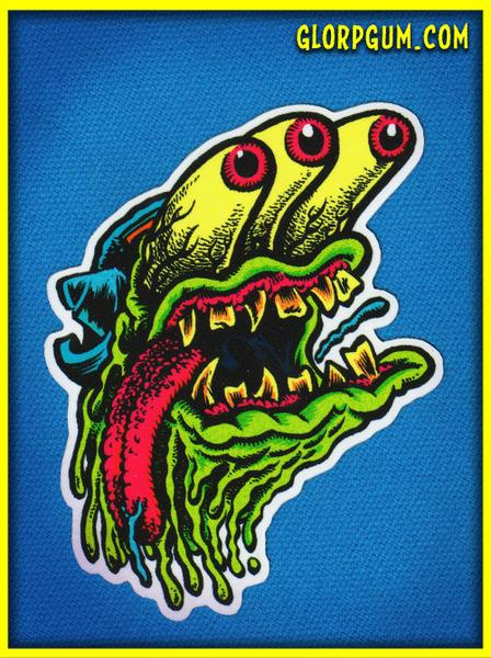 Image of 1980's GLORP Wad Sticker