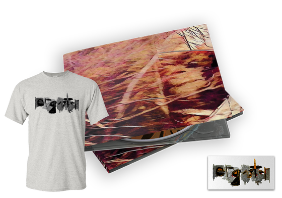 Image of A GREAT DIVIDE - DIGIPAK / STICKER / SHIRT COMBO (LIMITED SUPPLY)