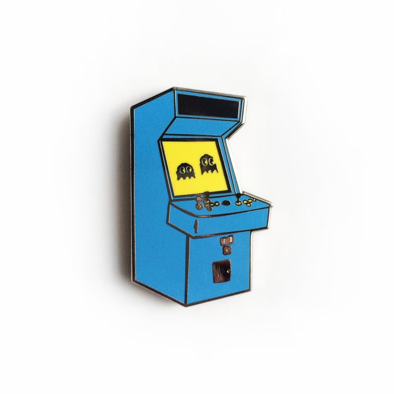 Image of Arcade Machine Enamel Pin