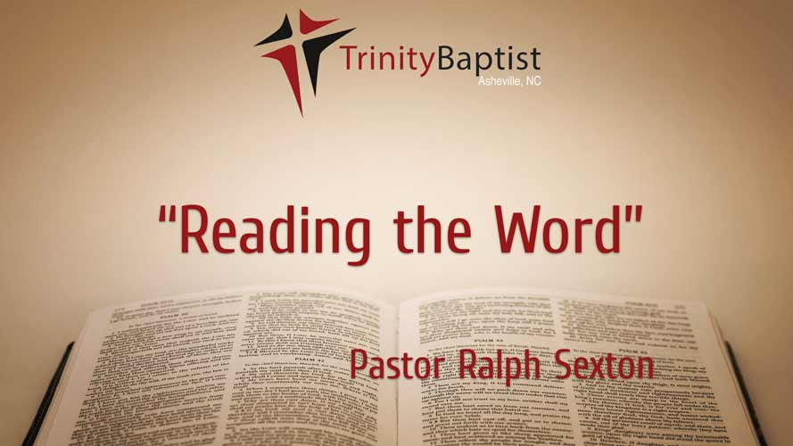 Image of Reading the Word