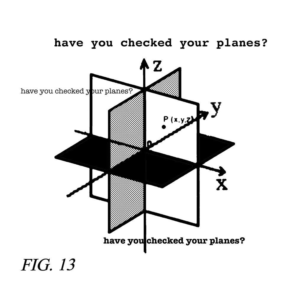Image of Checked your planes T-shirt