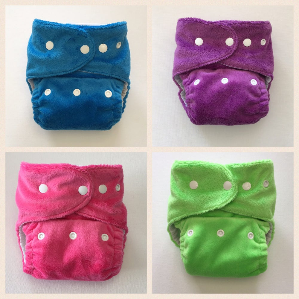 Image of Minky Colours - MADE TO ORDER