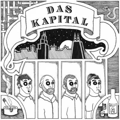 "Image of Das Kapital ""S/T"" 7"""