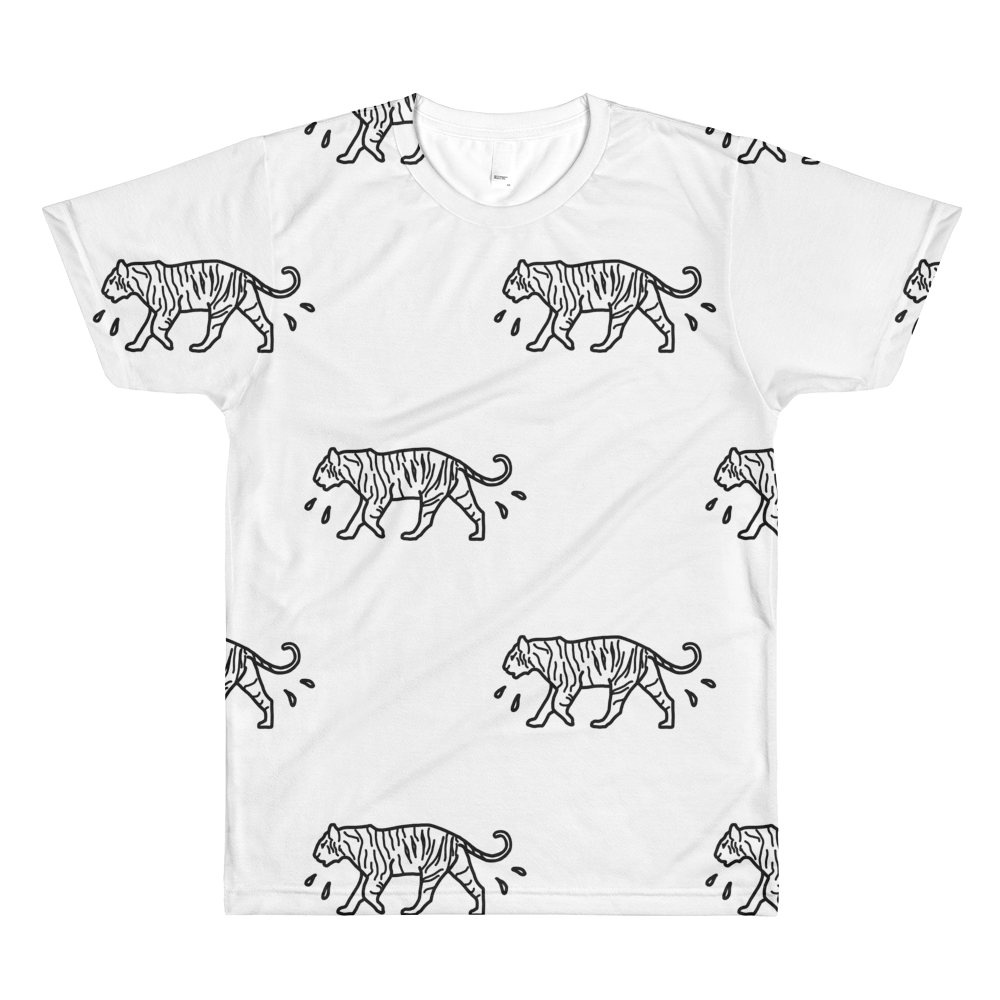 Image of Introvert in the Wild Tiger Tee