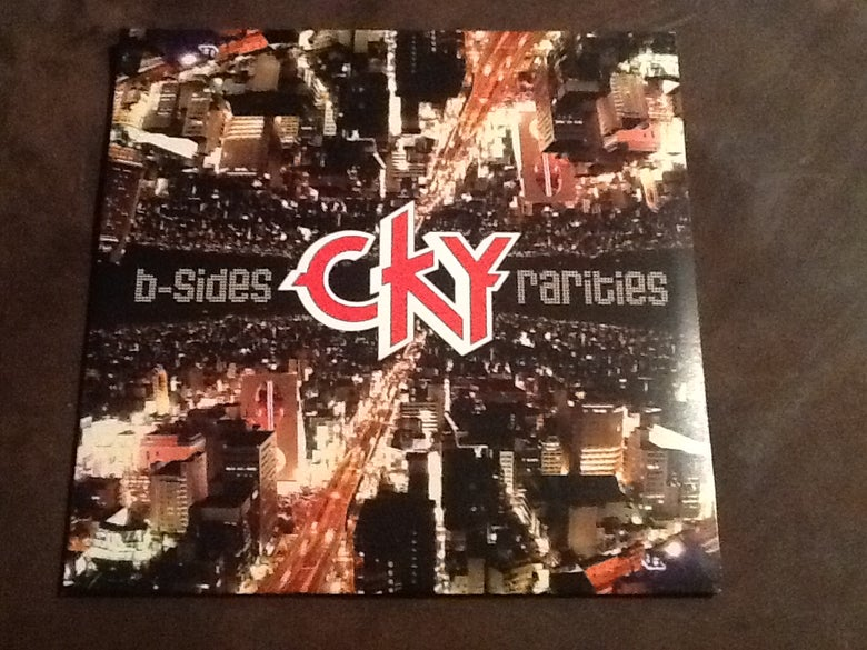 Image of CKY B sides And Rarities DOUBLE vinyl! 2 LPs red and purple! signed!