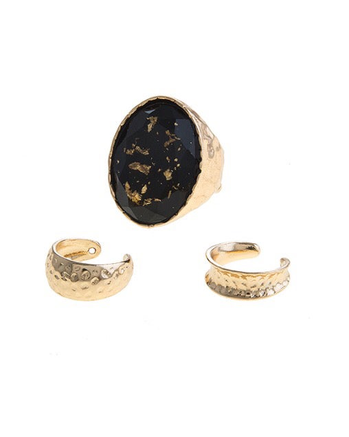 "Image of ""Gold Dust"" ring set"