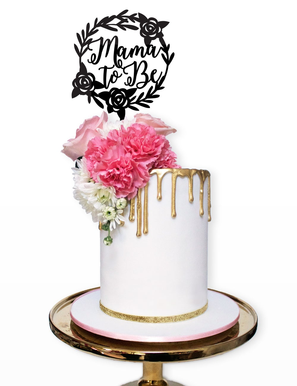 "Image of ""Mama To Be"" Cake Topper"
