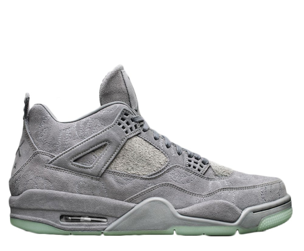 Image of KAWS X NIKE AIR JORDAN 4 COOL GREY/WHITE 930155-003