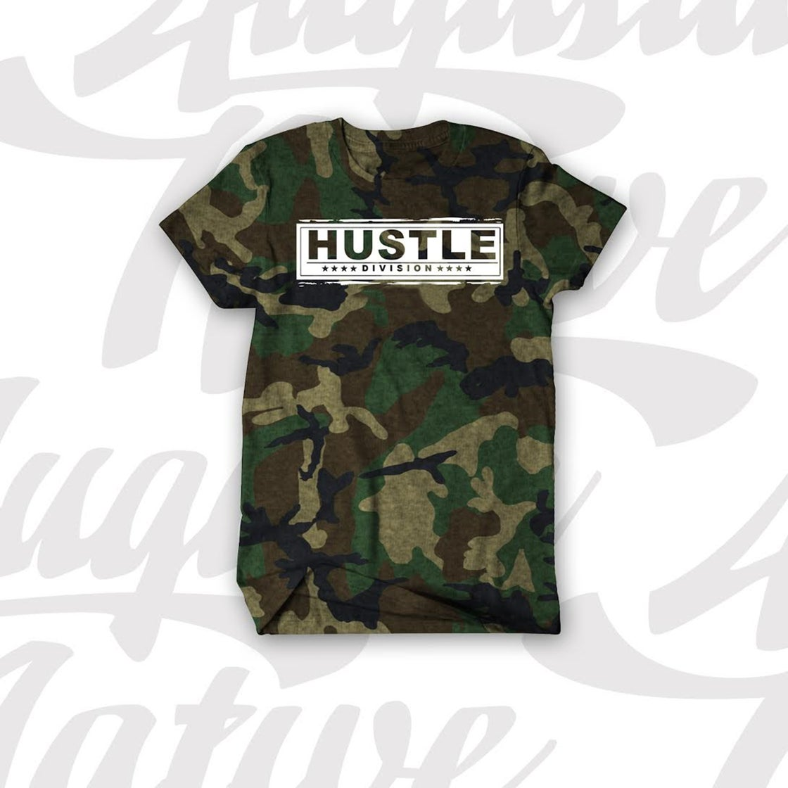 Image of HUSTLE DIVISION (2ND GENERATION) (Available in CAMO/WHT, BLK/WHT, BLK/GOLD, RED/WHT/ WHT/GOLD)