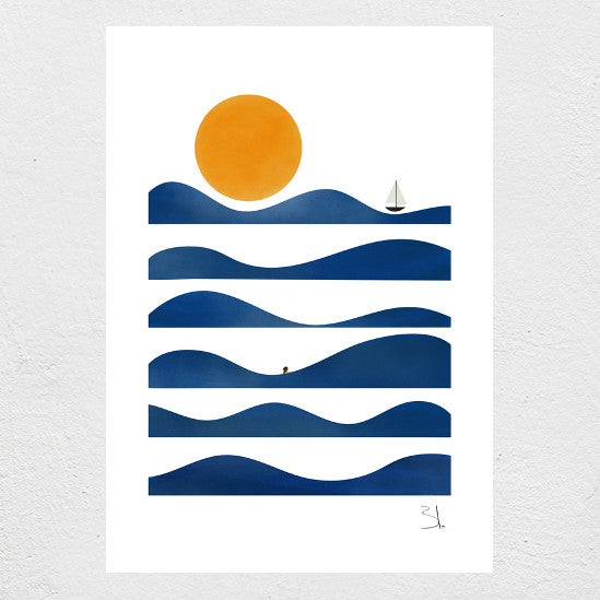 Image of Bath Print