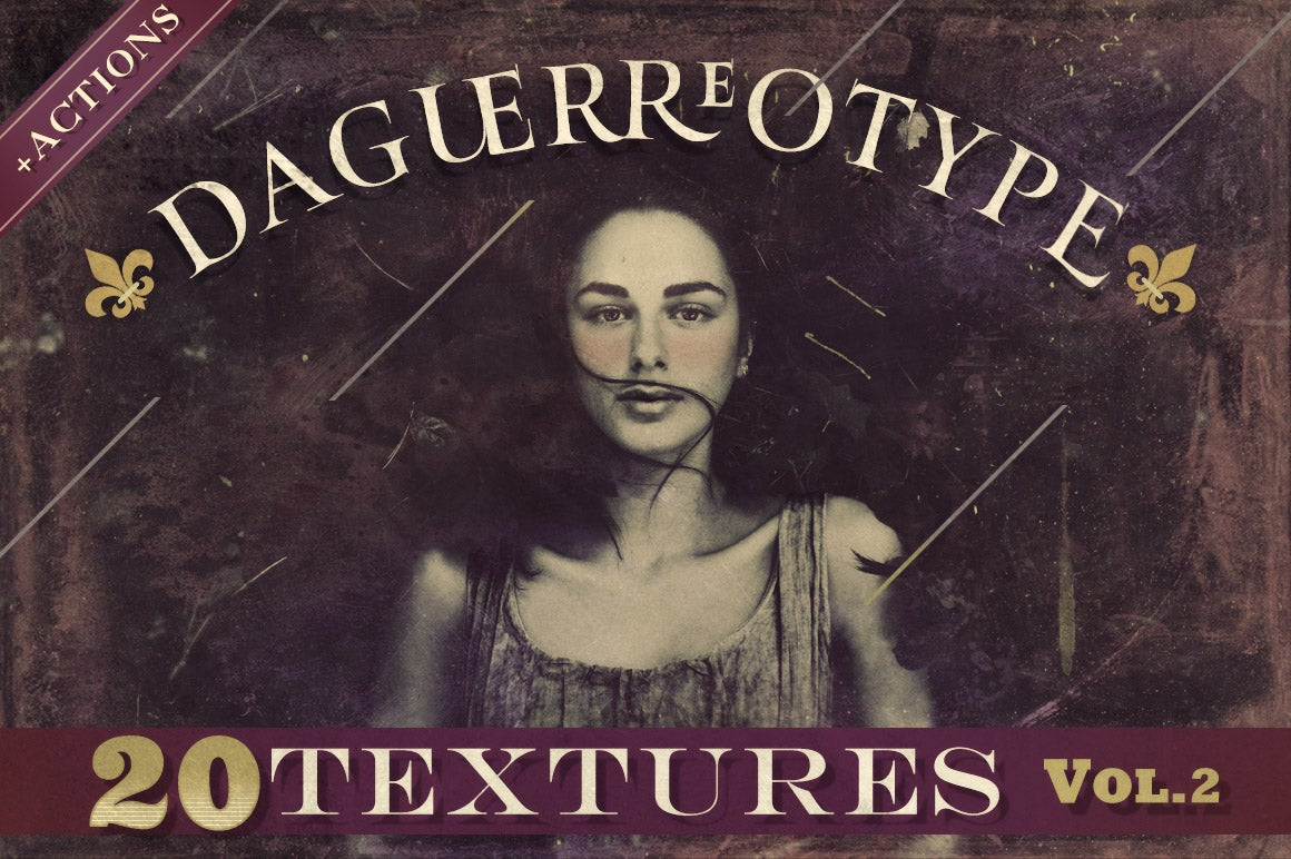 Image of Daguerreotype Textures & Actions Vol.2