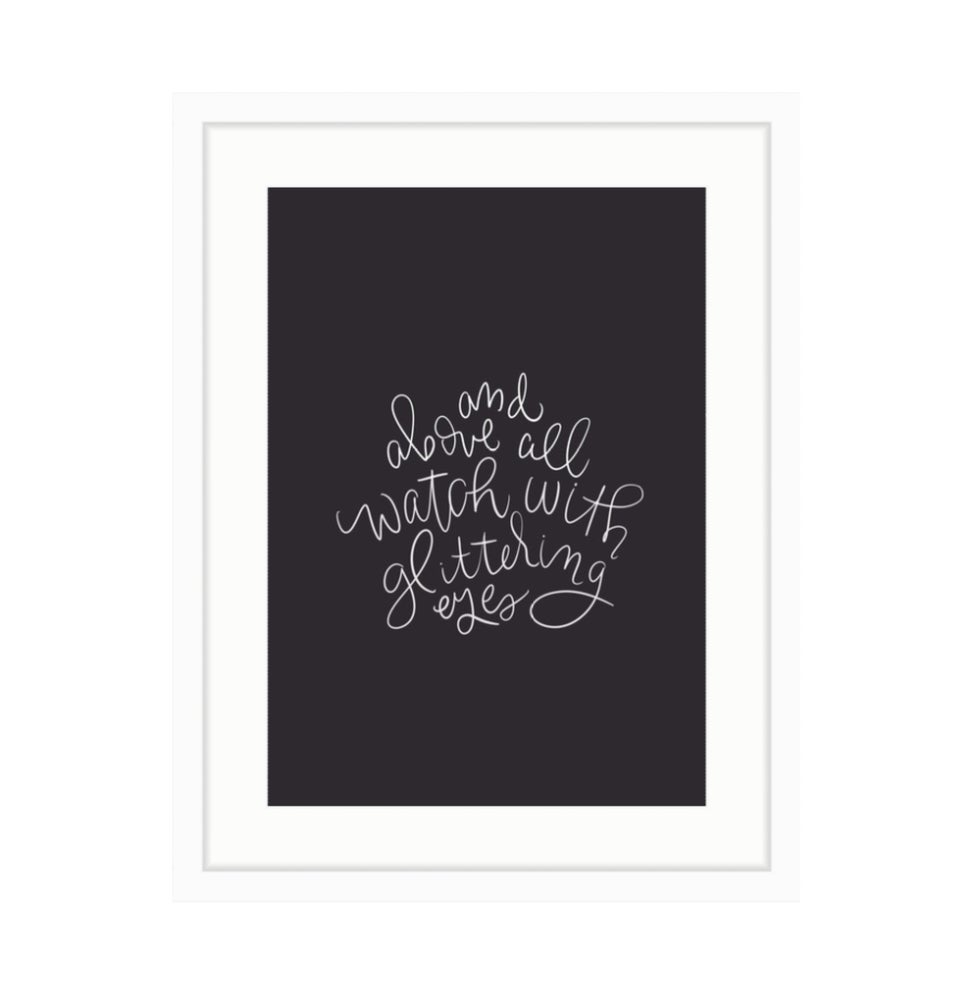 Image of Roald Dahl Print 1 // Black & White