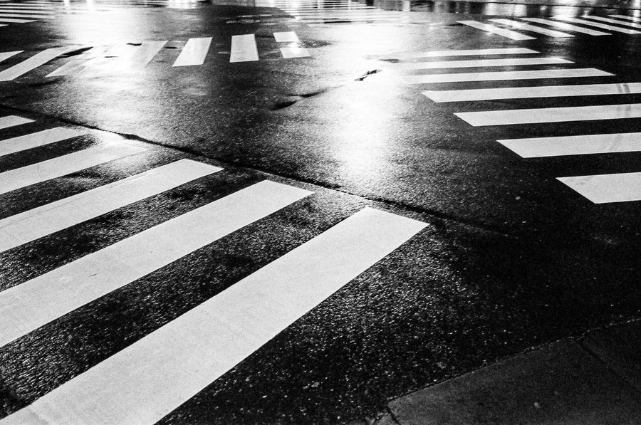 "Image of Shibuya Zebra Crossing - 12"" x 18"""