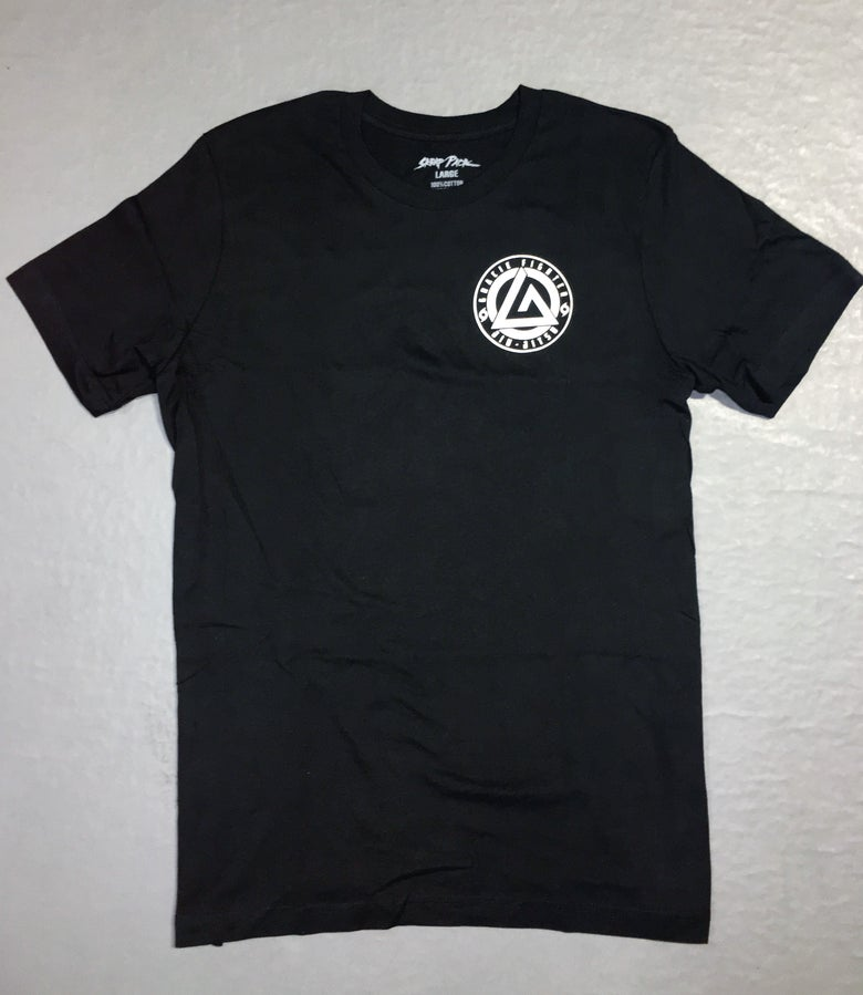 Image of Gracie Fighter Logo Tee (Black)