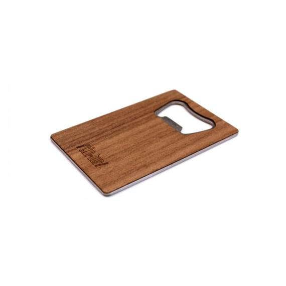 Image of TIMBER Wood Skin Wallet Bottle Opener: Evergreen Edition Free US Shipping