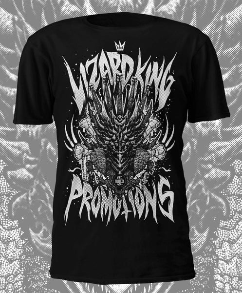 Image of Lizard King Official 'Black & White' T Shirt