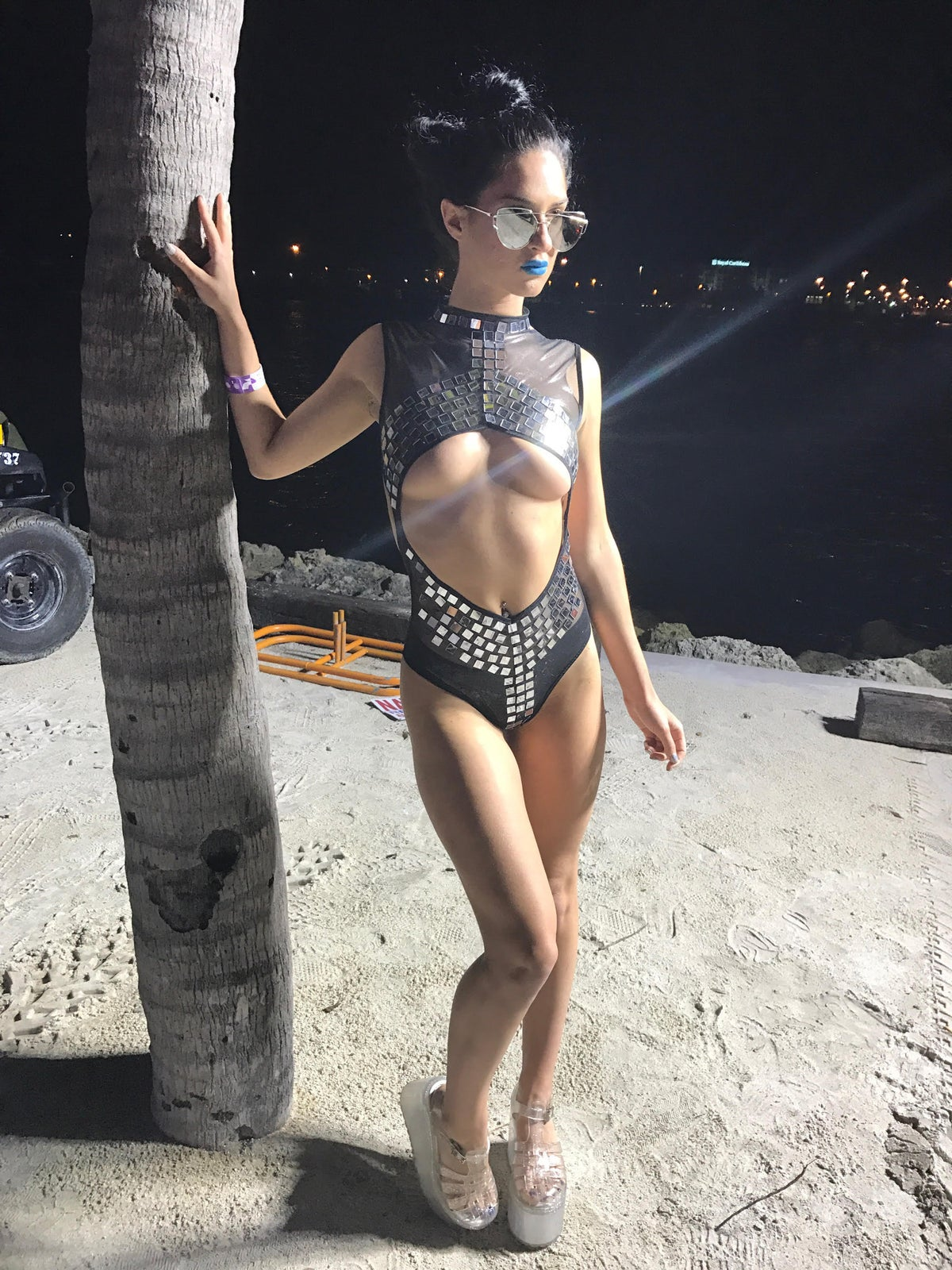 Image of Disco Kitty Bodysuit