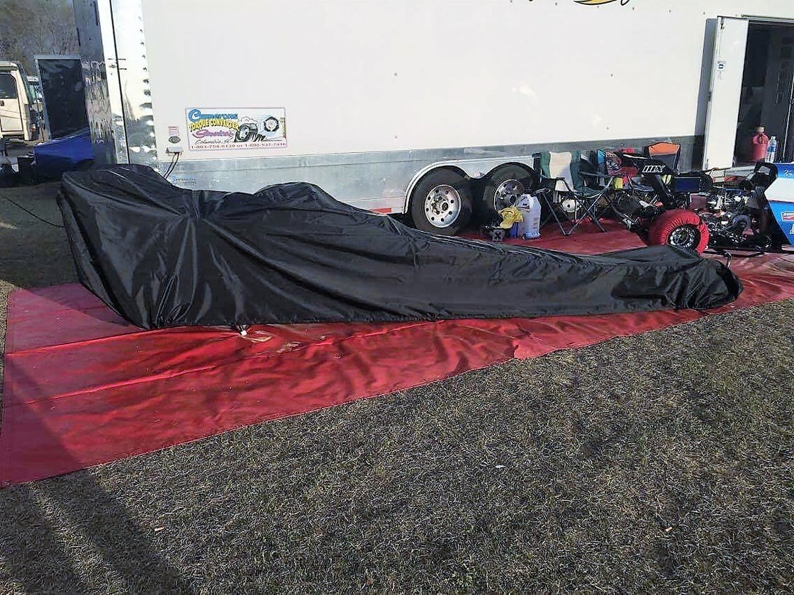 Image of JUNIOR DRAGSTER CAR COVER (MEDIUM DUTY) - WING OR NO WING