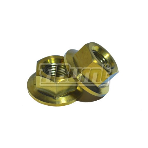 Image of Honda Civic -  Front Titanium Strut Tower Nuts