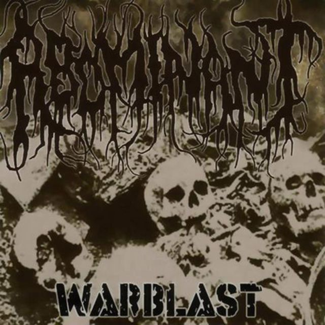 "Image of ABOMINANT "" Warblast "" CD"