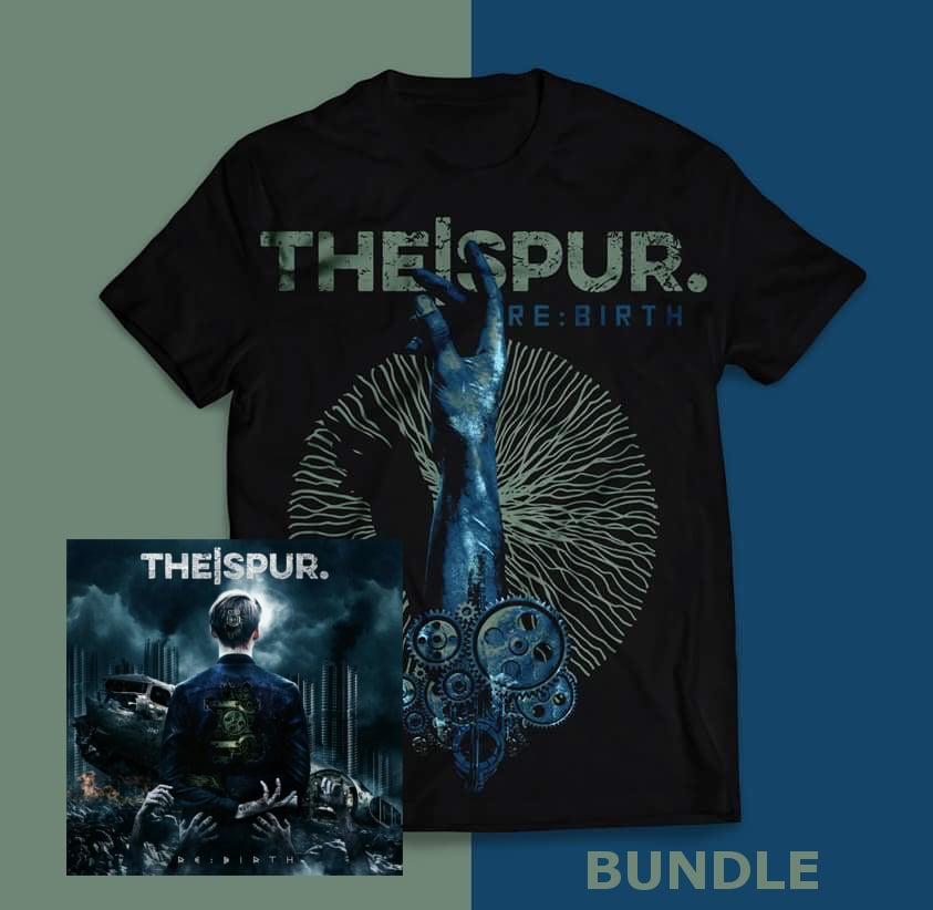 "Image of ""Rebirth"" - T-Shirt - Digipak - Promo Bundle"