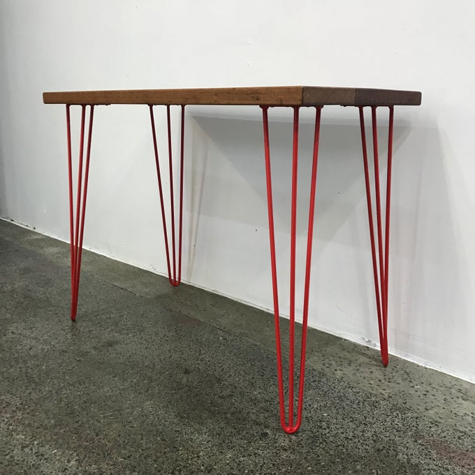 Image of CUSTOM HAIR PIN LEG DESK