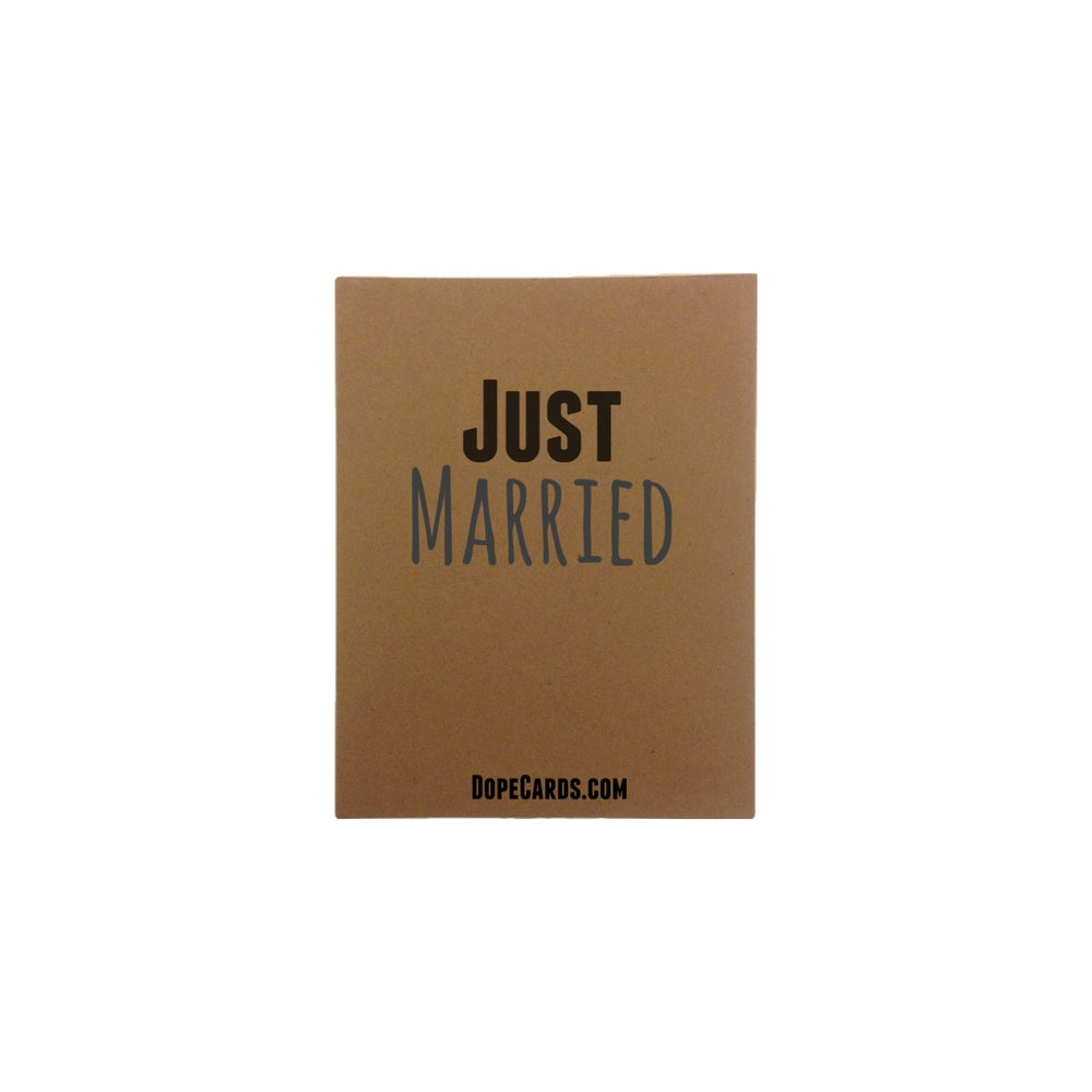Image of Just Married  (4 cards)