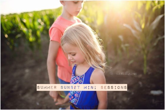 Image of June 24th Summer sunset mini sessions