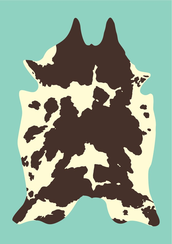 Image of Cowhide Giclee Print