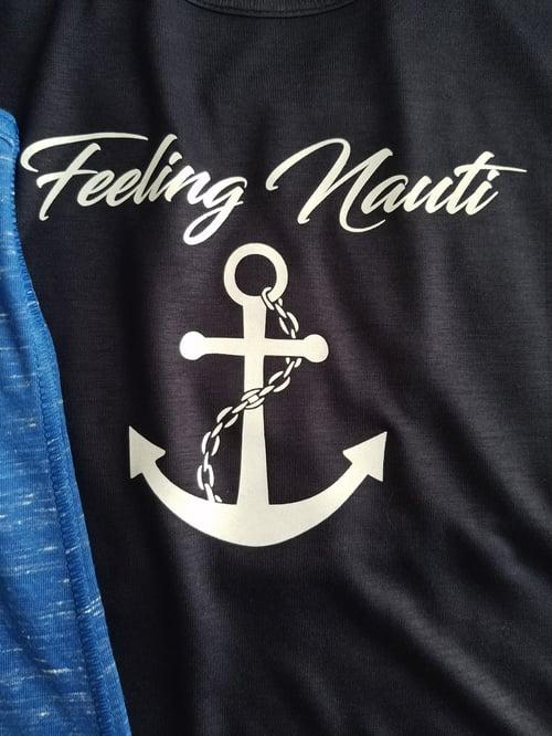 Image of Feeling Nauti - Flowy racerback