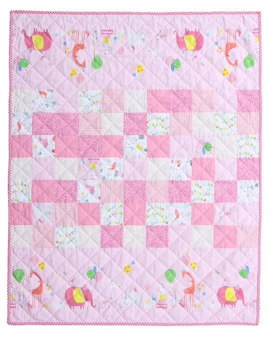 Image of Hip Hooray Baby/Child's Quilt