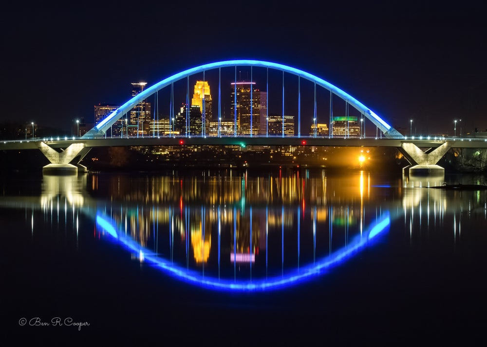 Image of Lowry Bridge in Minneapolis