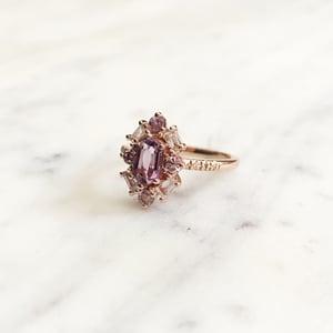 Image of Emma Deco Amethyst Ring