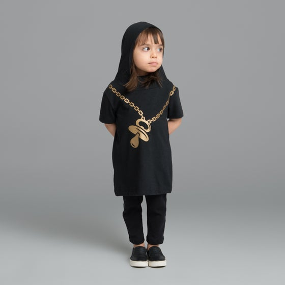 "Image of ""Off the Chain"" Hoodie Dress"