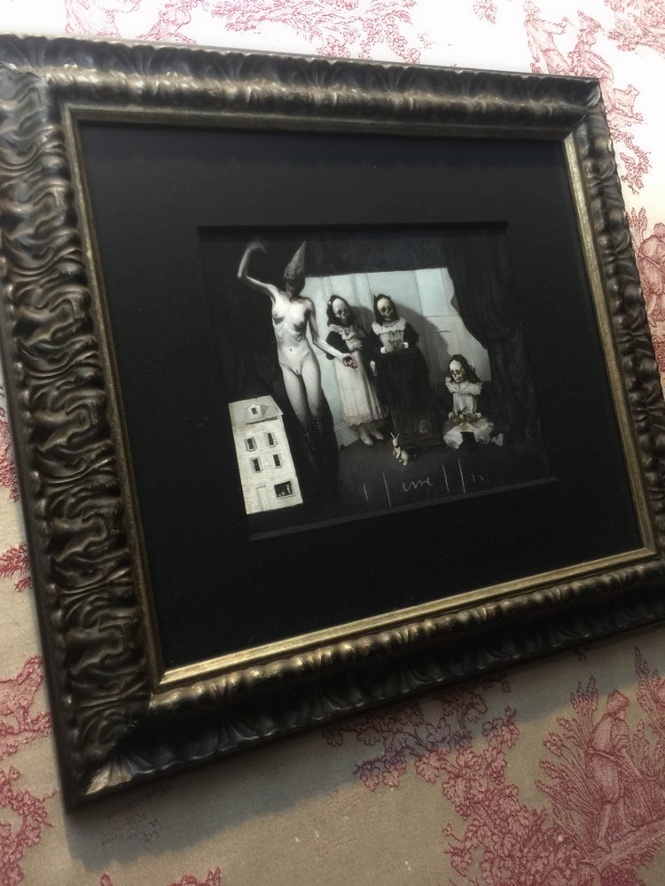 Image of 'LACRIMOSA' - Framed Miniature Open Edition Print