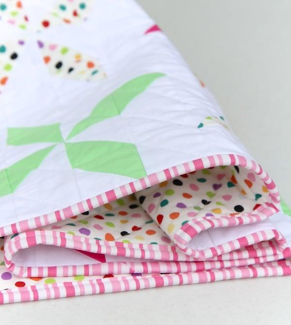 Image of Pinwheel Baby/Child Quilt