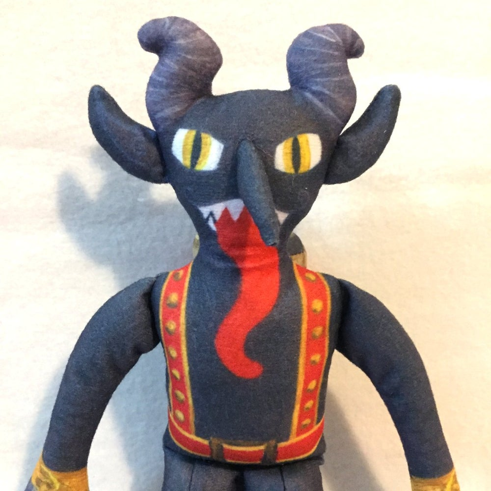 Image of Krampus plush toy
