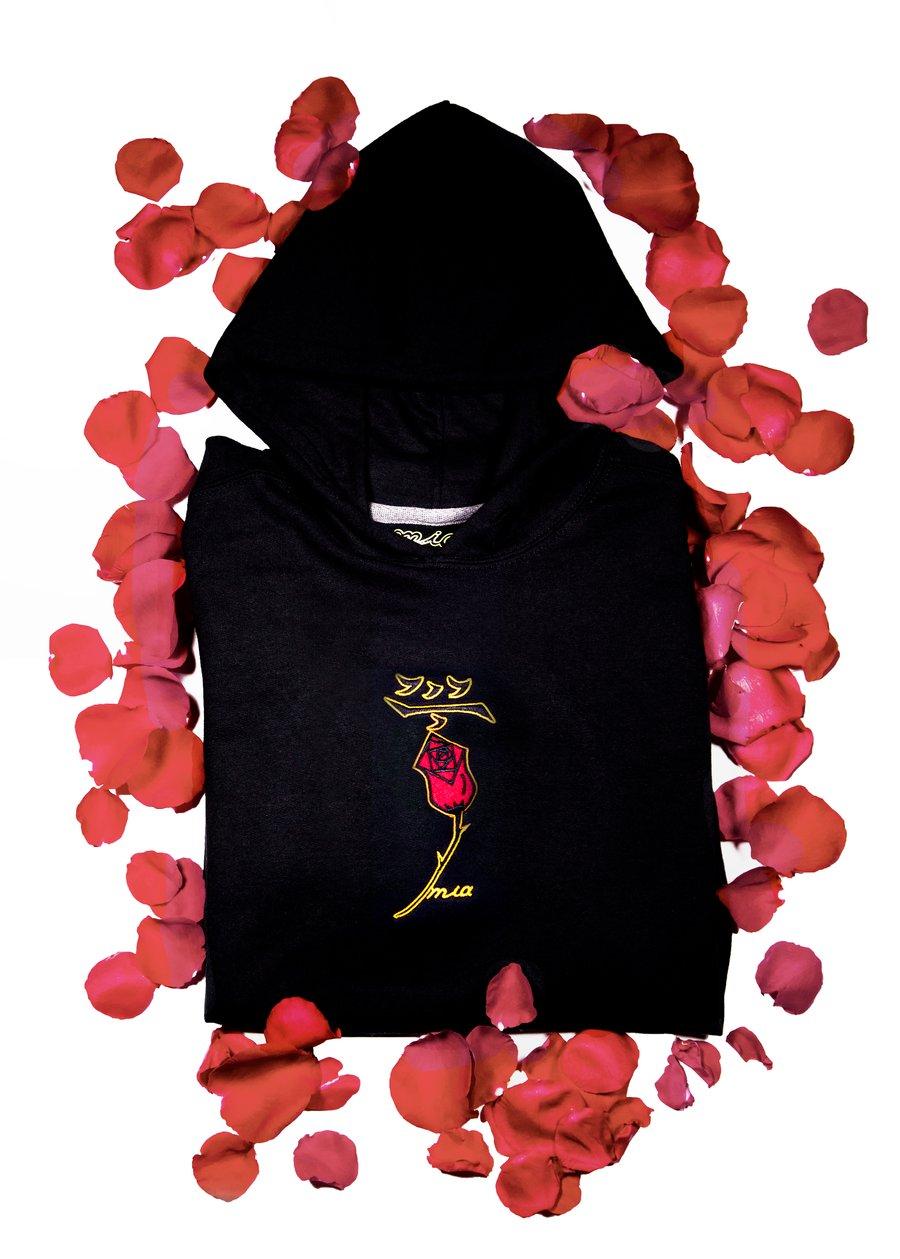 Image of obsidian black hoodie