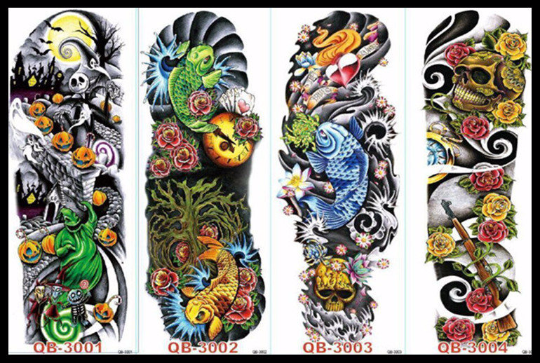 Image of Full Sleeve inkSlap Temporary Tattoo