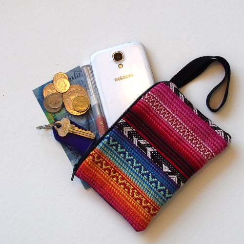 Image of Pre-order Handmade Multi-coloured Coin Purse
