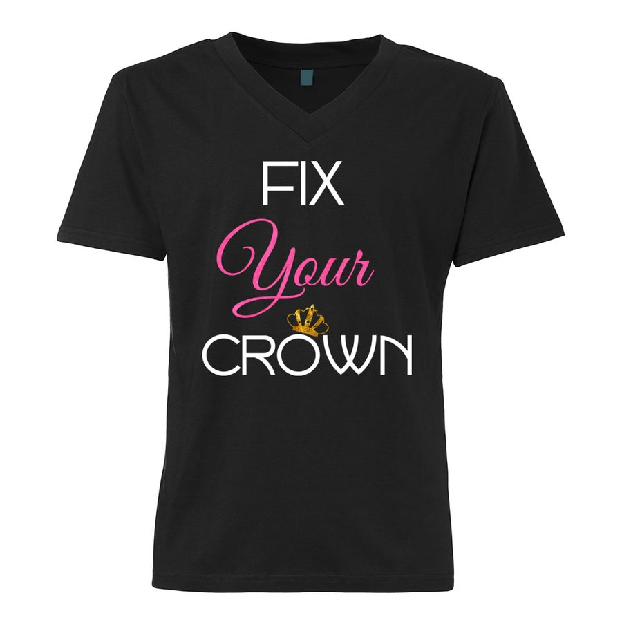 Image of Fix Your Crown V-Neck