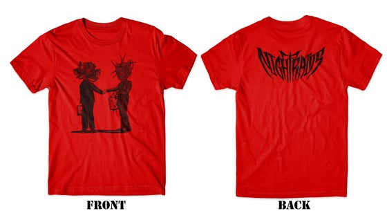 Image of Night Raids Red tee shirt