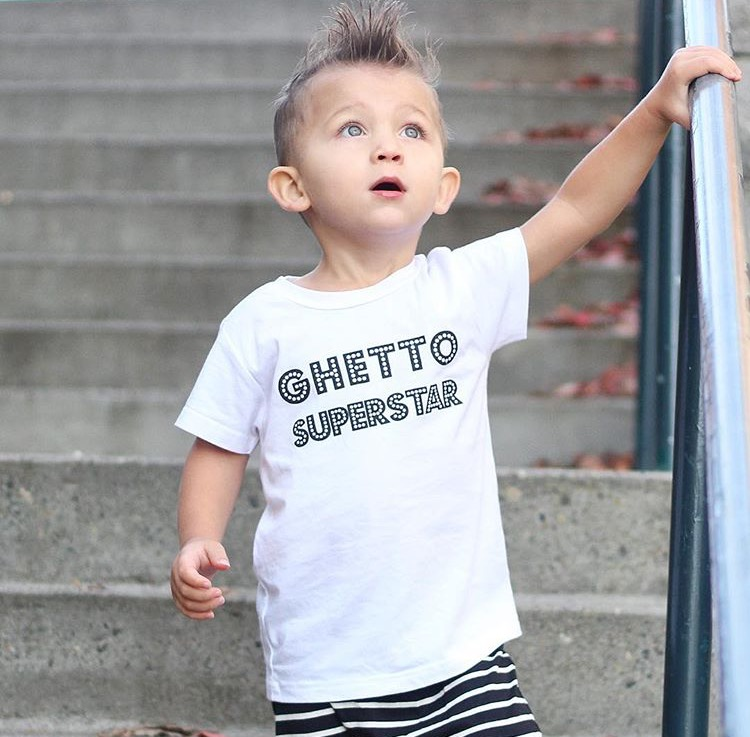 Image of Ghetto Superstar tee