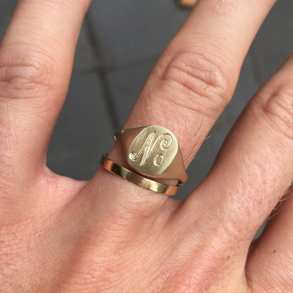 Image of Engraved Signet