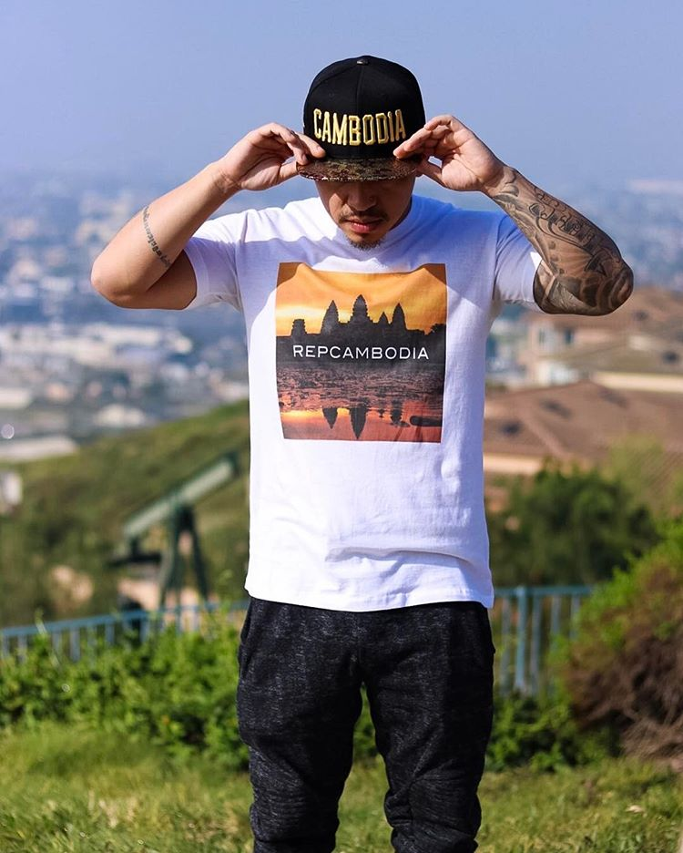 Image of Angkor Wat Sunset Tee